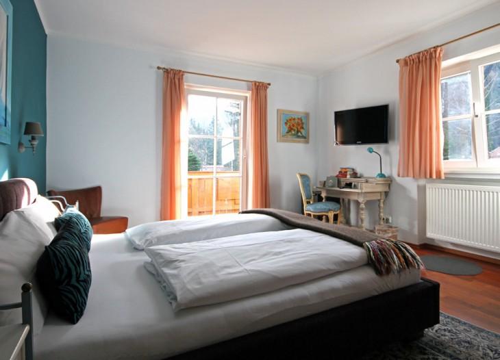 Gästehaus Kaiser in Schliersee - Blaues Zimmer