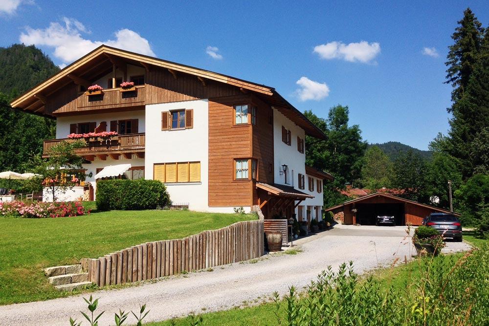 Gästehaus Landhaus Kaiser in Schliersee - Garten